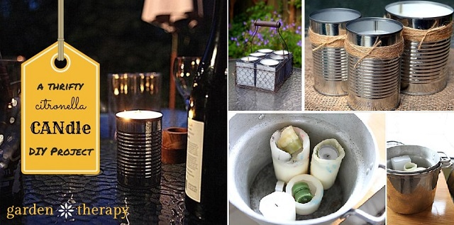 Awesome DIY Citronella Candles Tutorial
