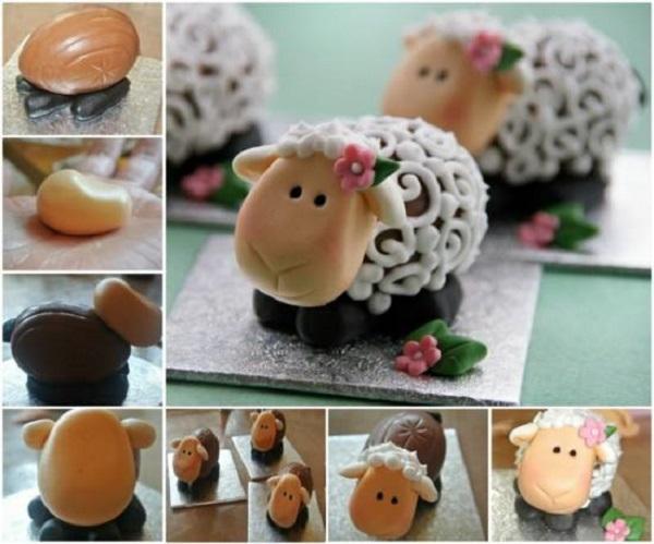 Amazing DIY Easter Lambs
