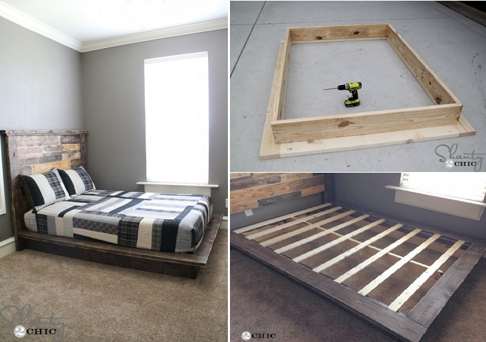 Simple Loft Bed Plans With Stairs