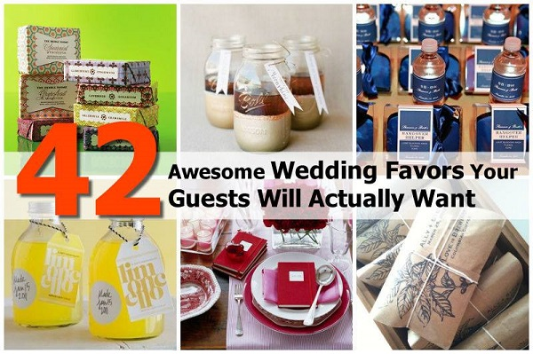 Useful Wedding Favors