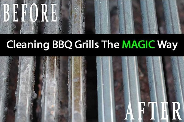 Magic Way To Clean The BBQ