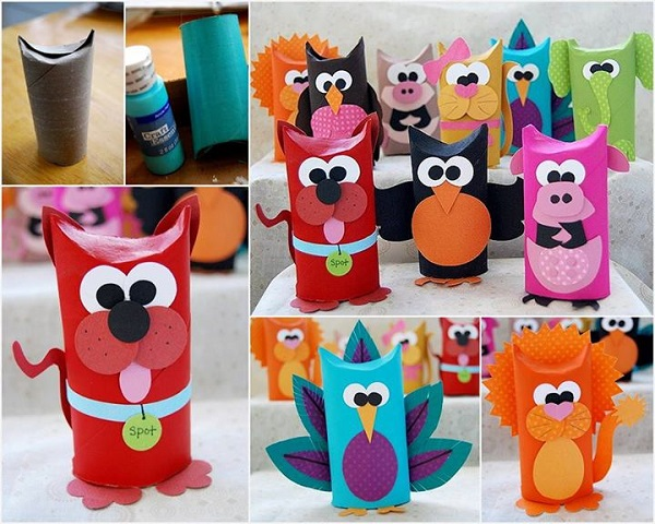 Amazing DIY Toilet Tube Animals