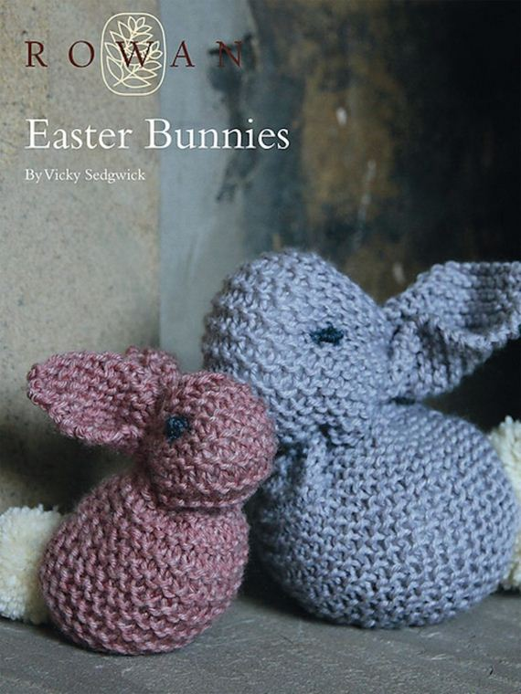 Awesome easter knitting patterns simple easter bunnies negle Image collections