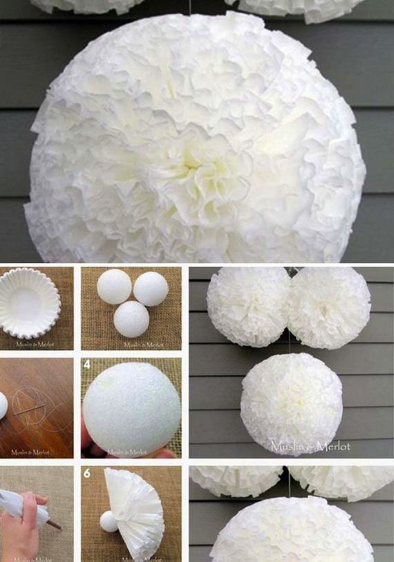 Coffee Filter Paper Lantern Easy