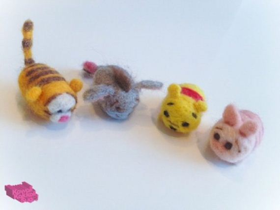 Awesome Needle Felted Characters