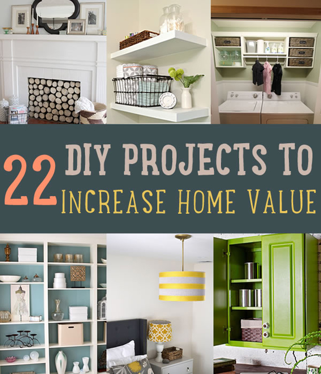 Awesome DIY Projects That Will Increase the Value of Your Home