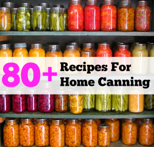 Amazing Home Canning Recipes