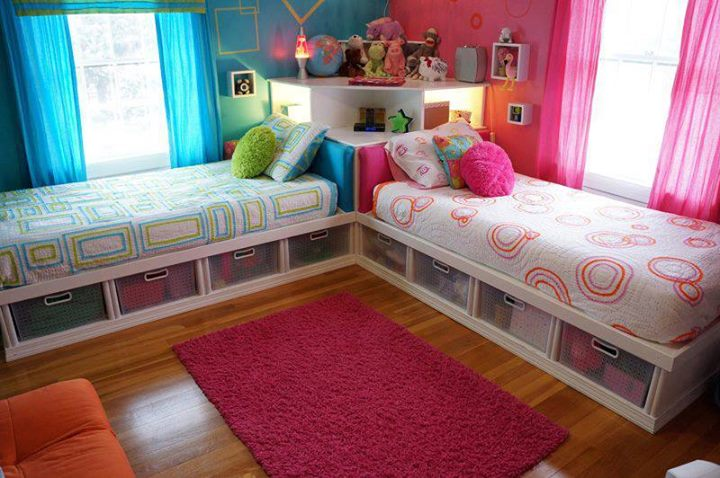 Creative Kidu0027s Bedroom Storage Ideas