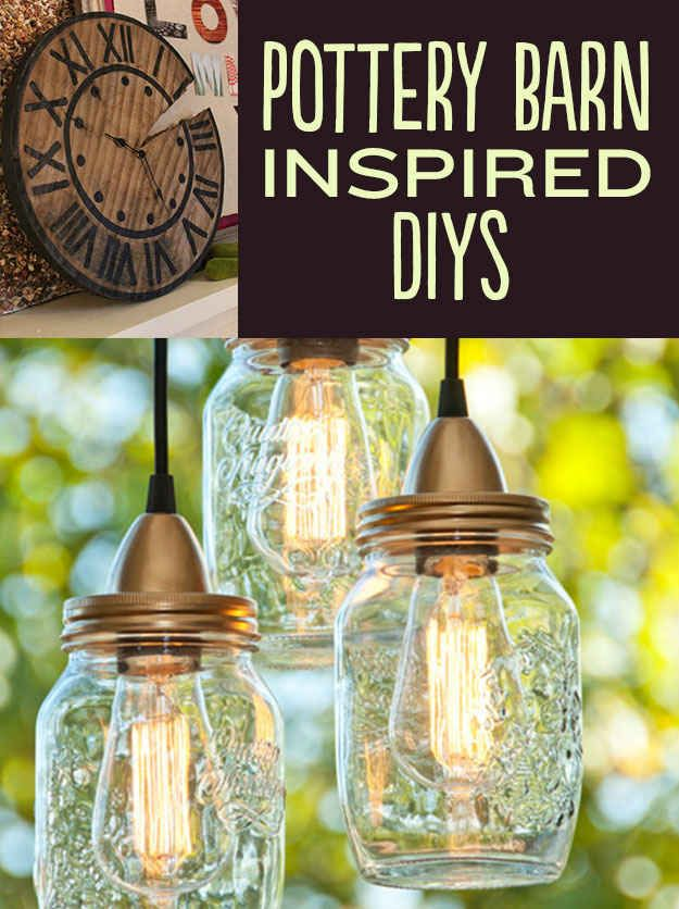 Awesome DIYs Inspired By Pottery Barn