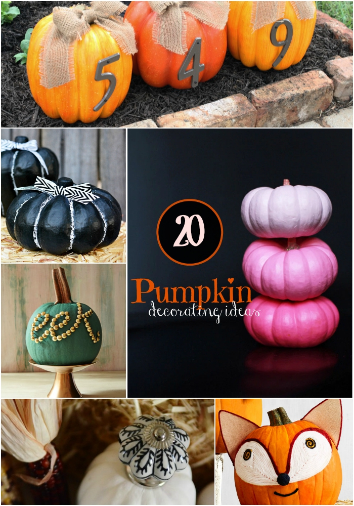 Amazing Pumpkin Decorating Ideas