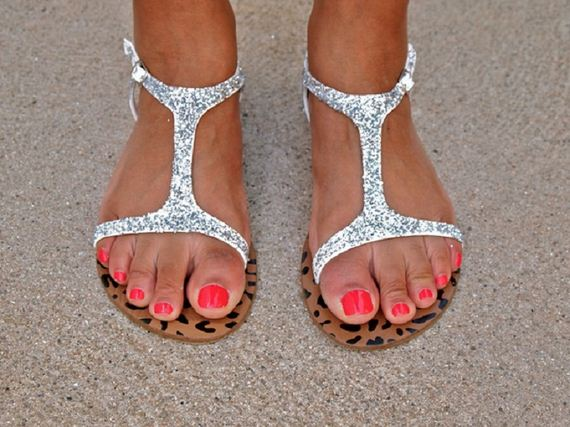 DIY Trendy Summer Sandals