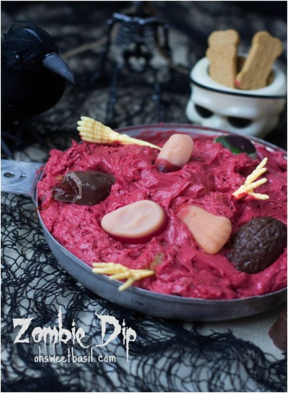 Awesome Halloween Dips And Appetizers