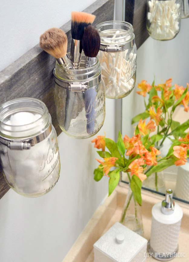 Fun DIY Bathroom Decor Projects