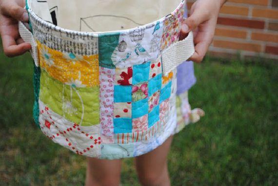 The Best DIY Fabric Storage Bins