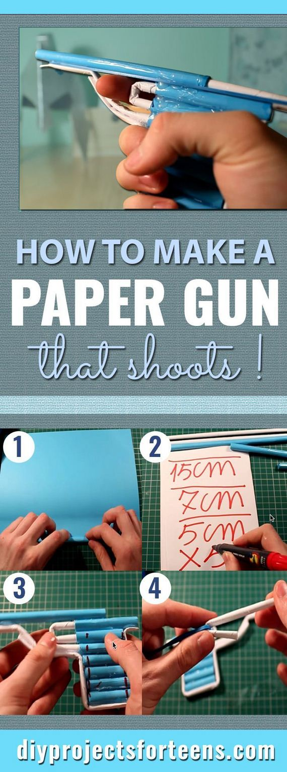 Cool diy projects for teen boys for Cool things to make at home with paper