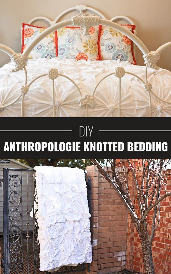 Anthropologie Inspired Knotted Bedding