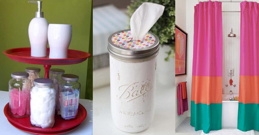 Fun DIY Bathroom Decor Projects
