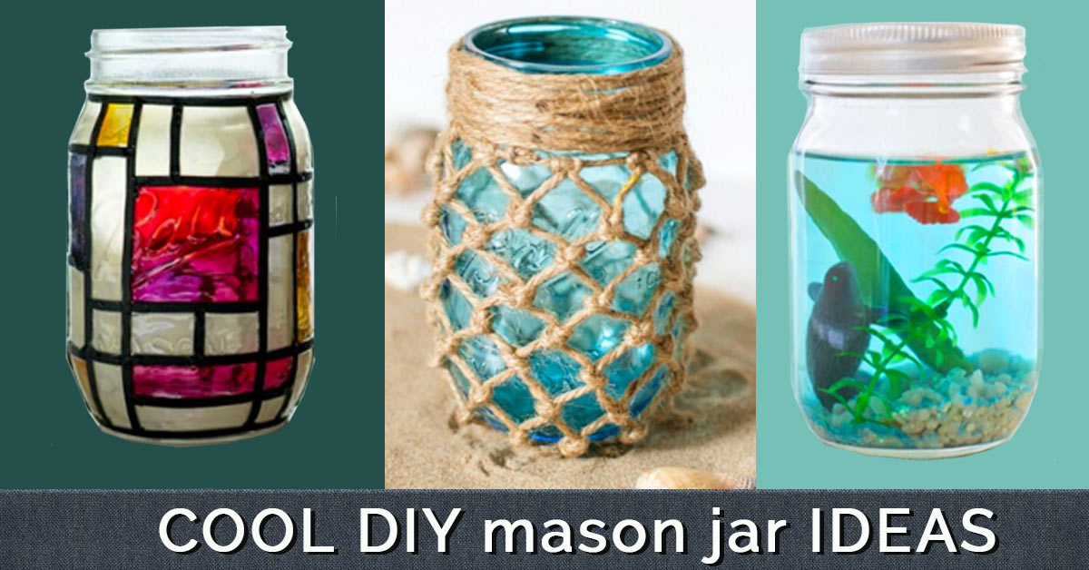 Diy mason jar crafts for Cool money jars