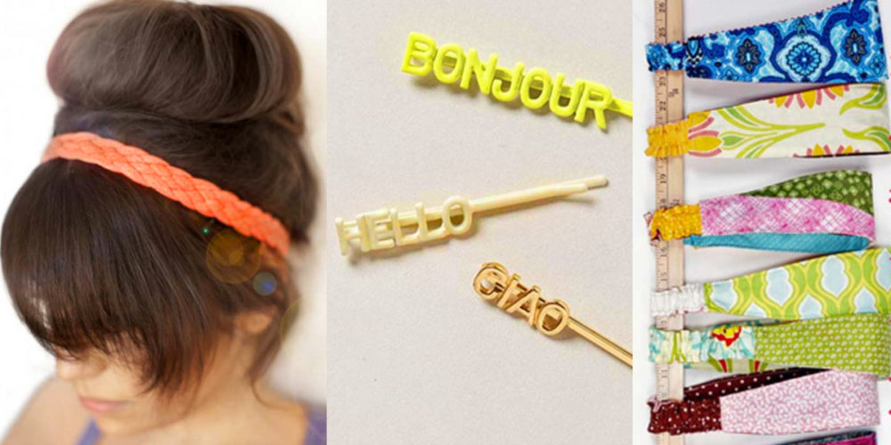 The Most Creative DIY Hair Accessories