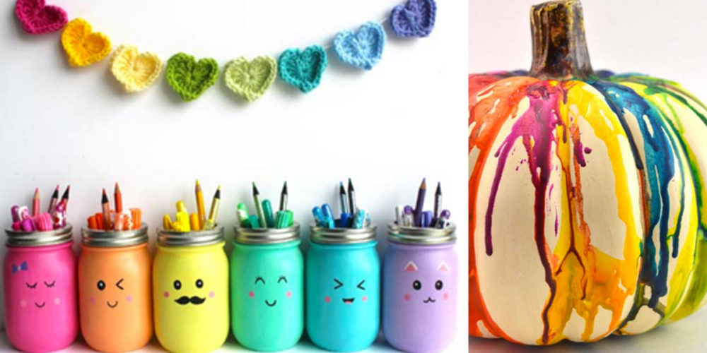 Awesome DIY Rainbow Crafts