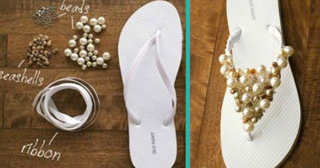 Creatively Cool DIY Sandals