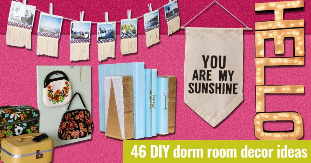 Awesome DIY Dorm Room Decor Ideas