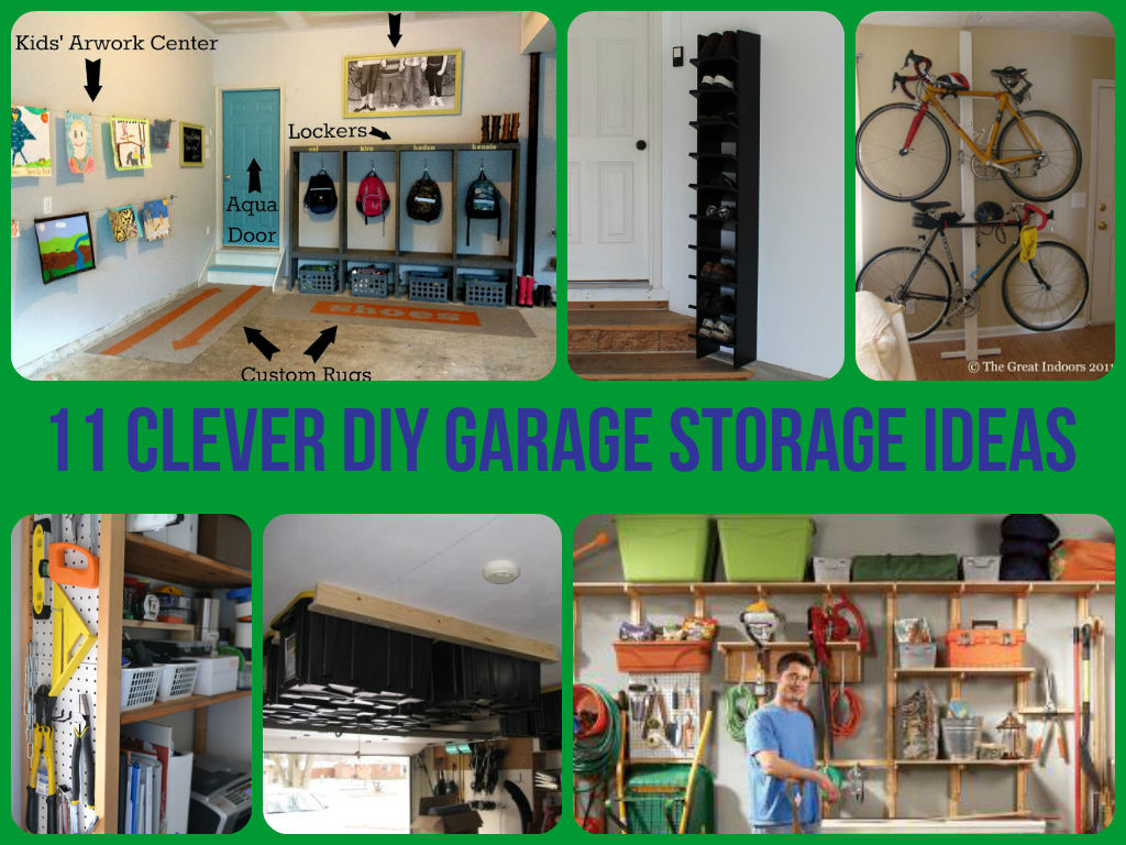 Amazing garage storage ideas make the most out of your garage space by using some of these useful diys from bike storage to nail storage we have a solution to make your garage more solutioingenieria Image collections