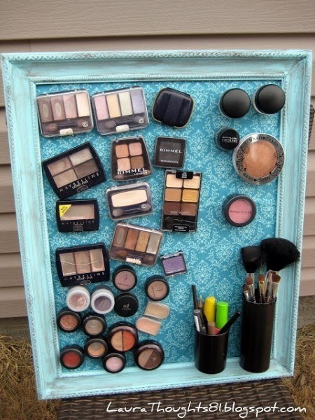 Cosmetic Organizing Ideas