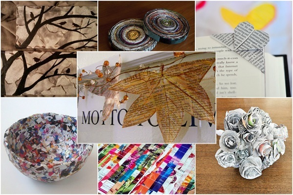 Cool things to do with old newspapers for Cool creative things