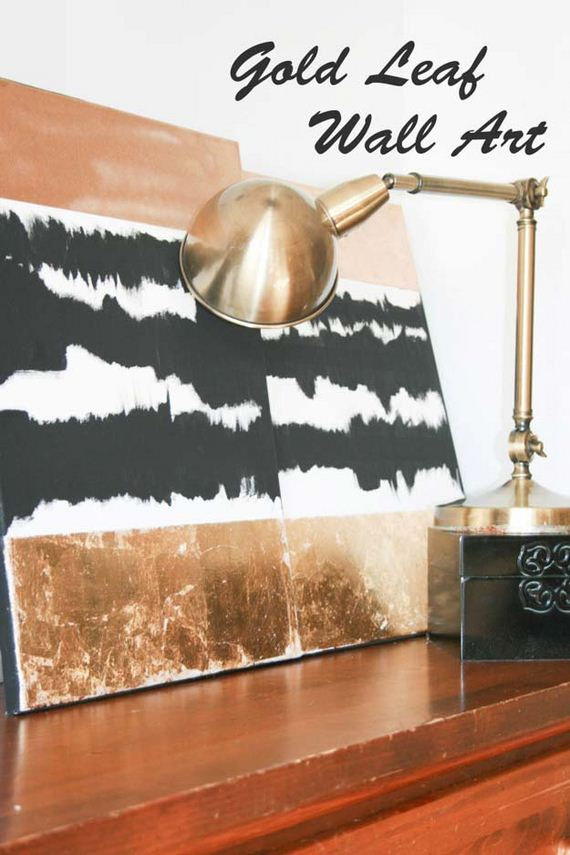Abstract Room Designs: Black And White DIY Room Decor Ideas
