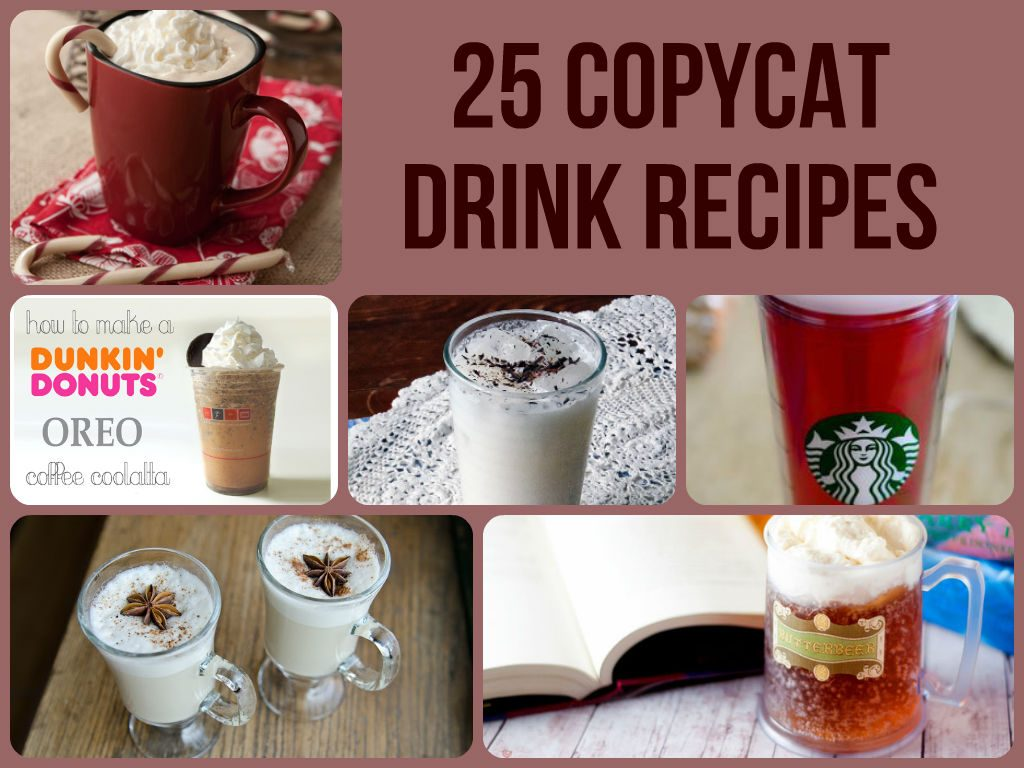 Amazing Copycat Drink Recipes
