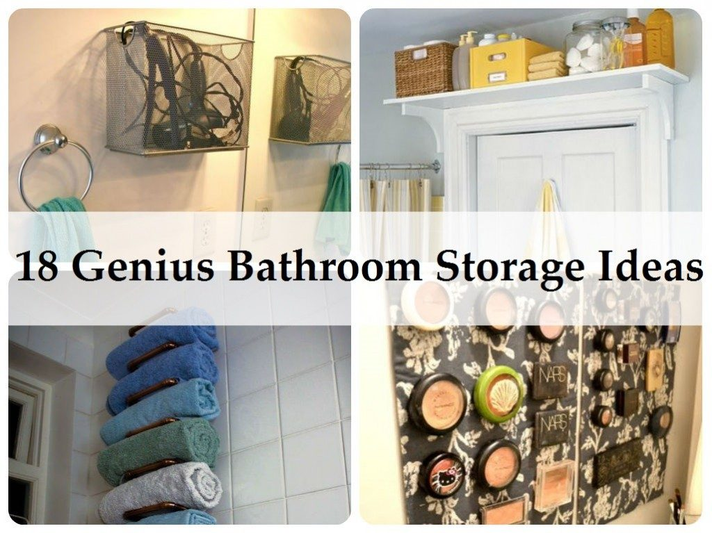 Amazing Bathroom Storage Ideas