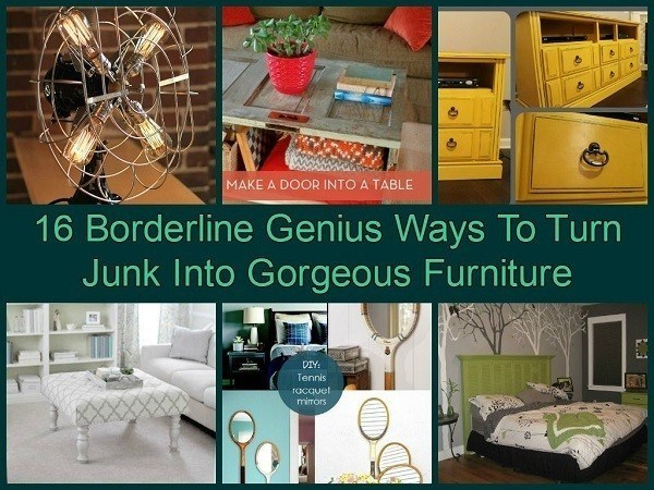 Turn Junk Into Gorgeous Furniture