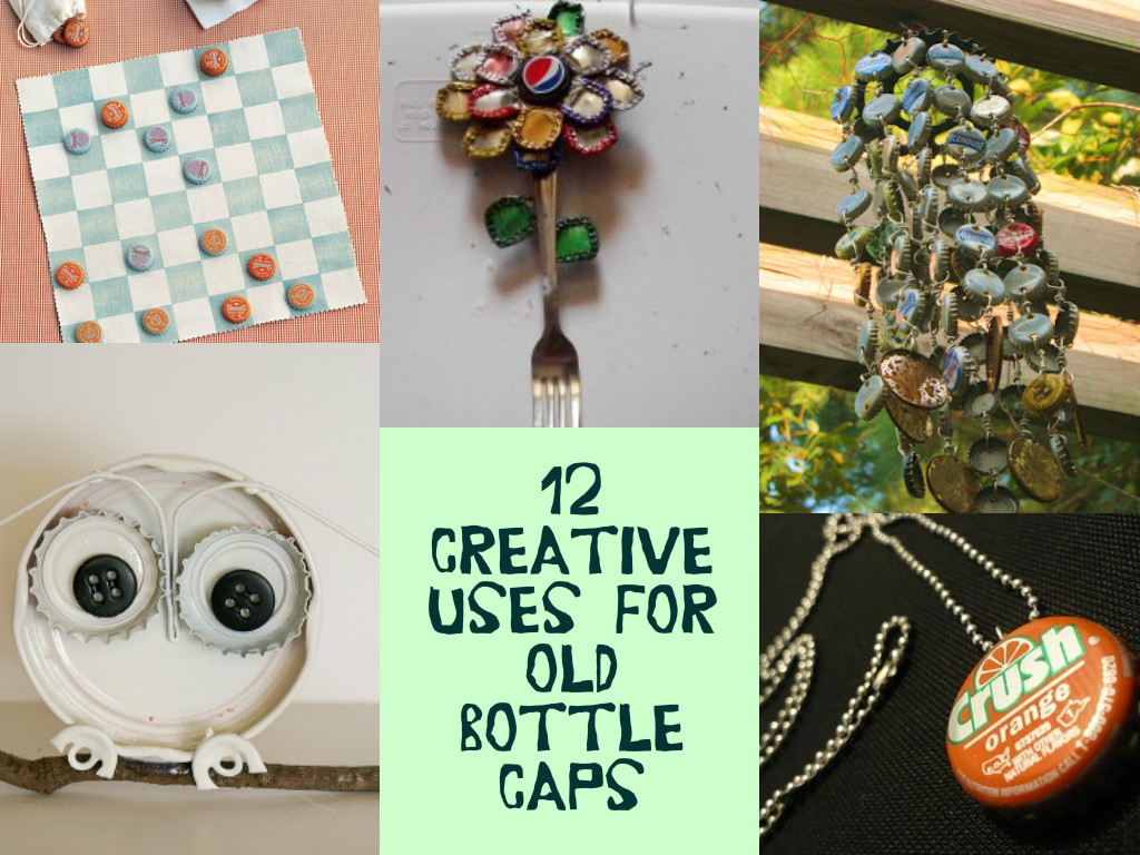 Amazingly creative uses for old bottle caps for How to make things with bottle caps