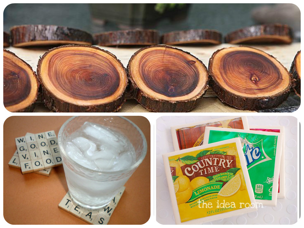 Awesome diy coasters for Handmade drink coasters
