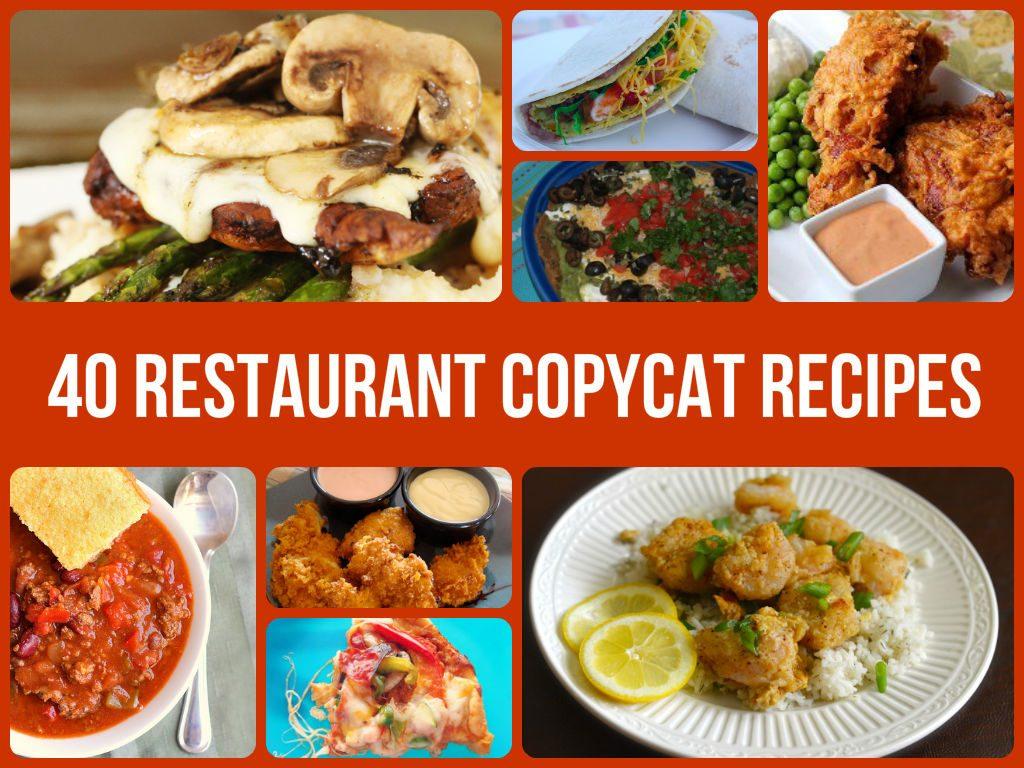 Amazing Restaurant Copycat Recipes