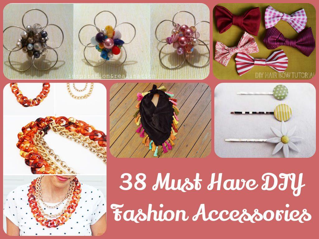 DIY Fashion Accessories