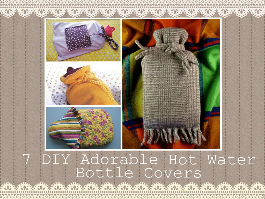 Adorable DIY Hot Water Bottle Covers