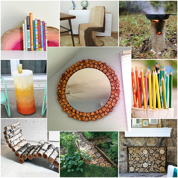 Beautiful Things To Make With Logs