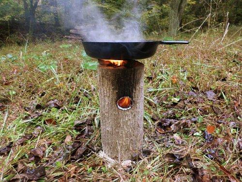 Fire Box D Cake Tin