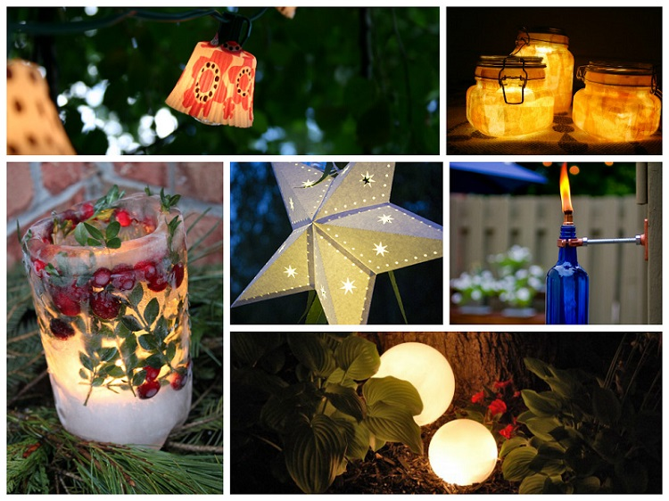 Amazing diy outdoor lighting ideas mozeypictures Images
