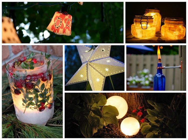 amazing outdoor landscape lighting ideas | Amazing DIY Outdoor Lighting Ideas