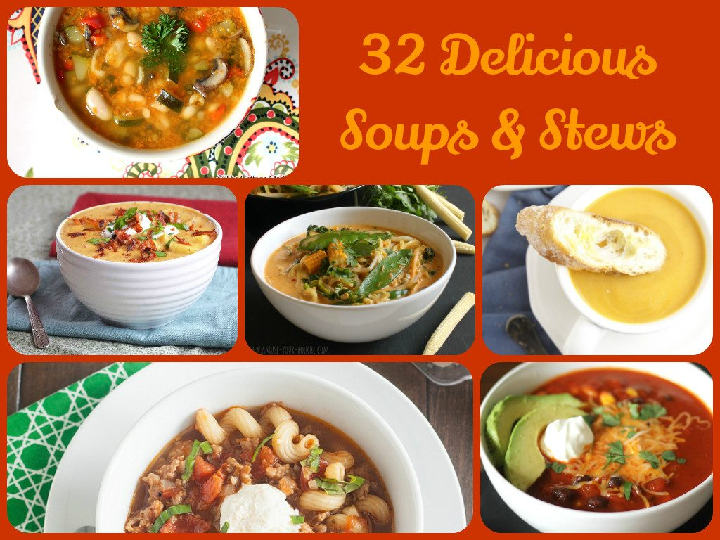 Delicious Soups And Stews