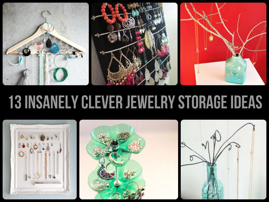13-insanely-clever-jewelry-storage-ideas.jpg  sc 1 st  CheerCrank & Clever Jewelry Storage Ideas