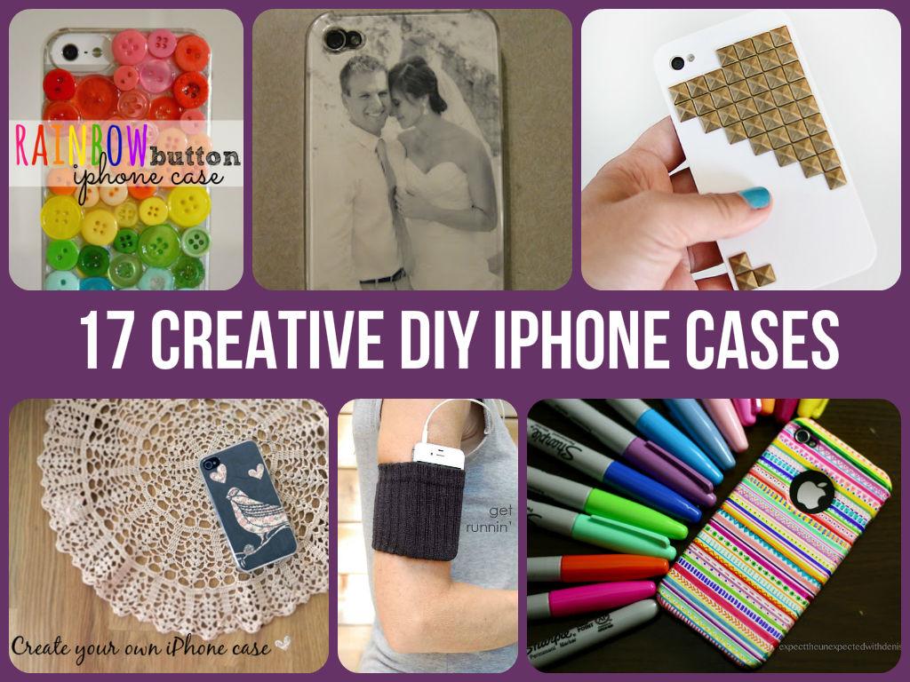 Cool DIY iPhone Cases