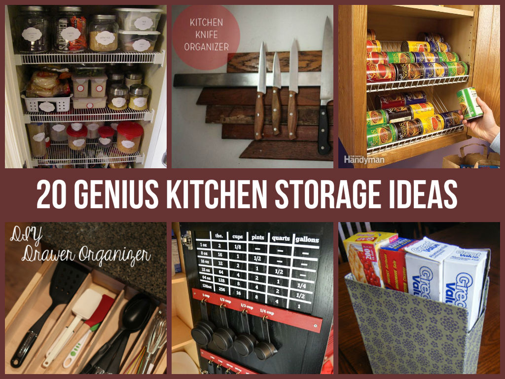 Kitchen Storage Amazing Kitchen Storage Ideas