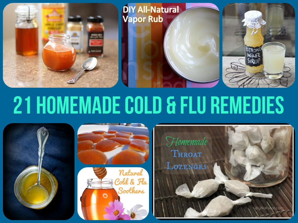DIY Cold & Flu Remedies