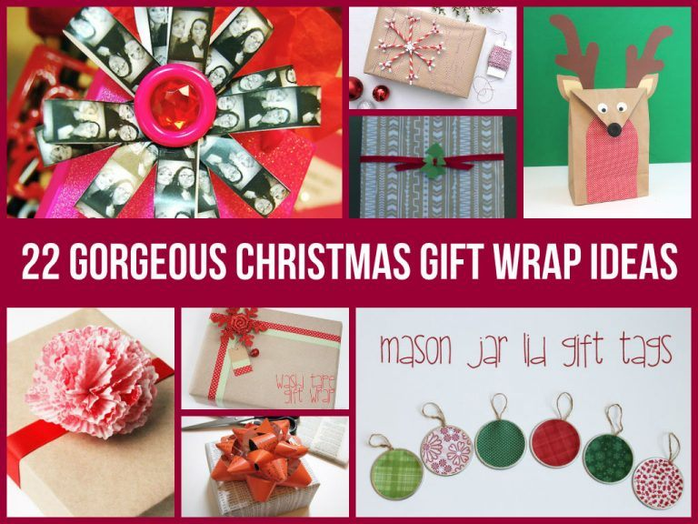 Amazing Christmas Gift Wrap Ideas