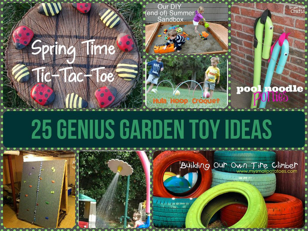 Awesome Garden Toy Ideas