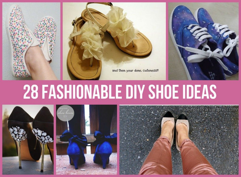 Amazing DIY Shoe Ideas